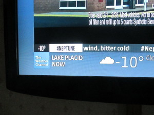 chilly temps