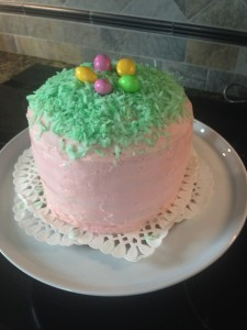 6 layer Easter cake