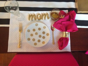 Kate Spade brunch table setting